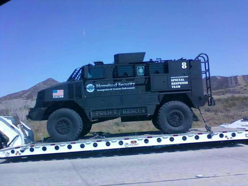Homeland Security Unveils Monstrous SWAT Trucks Homelandsecurity-ICE-SRT