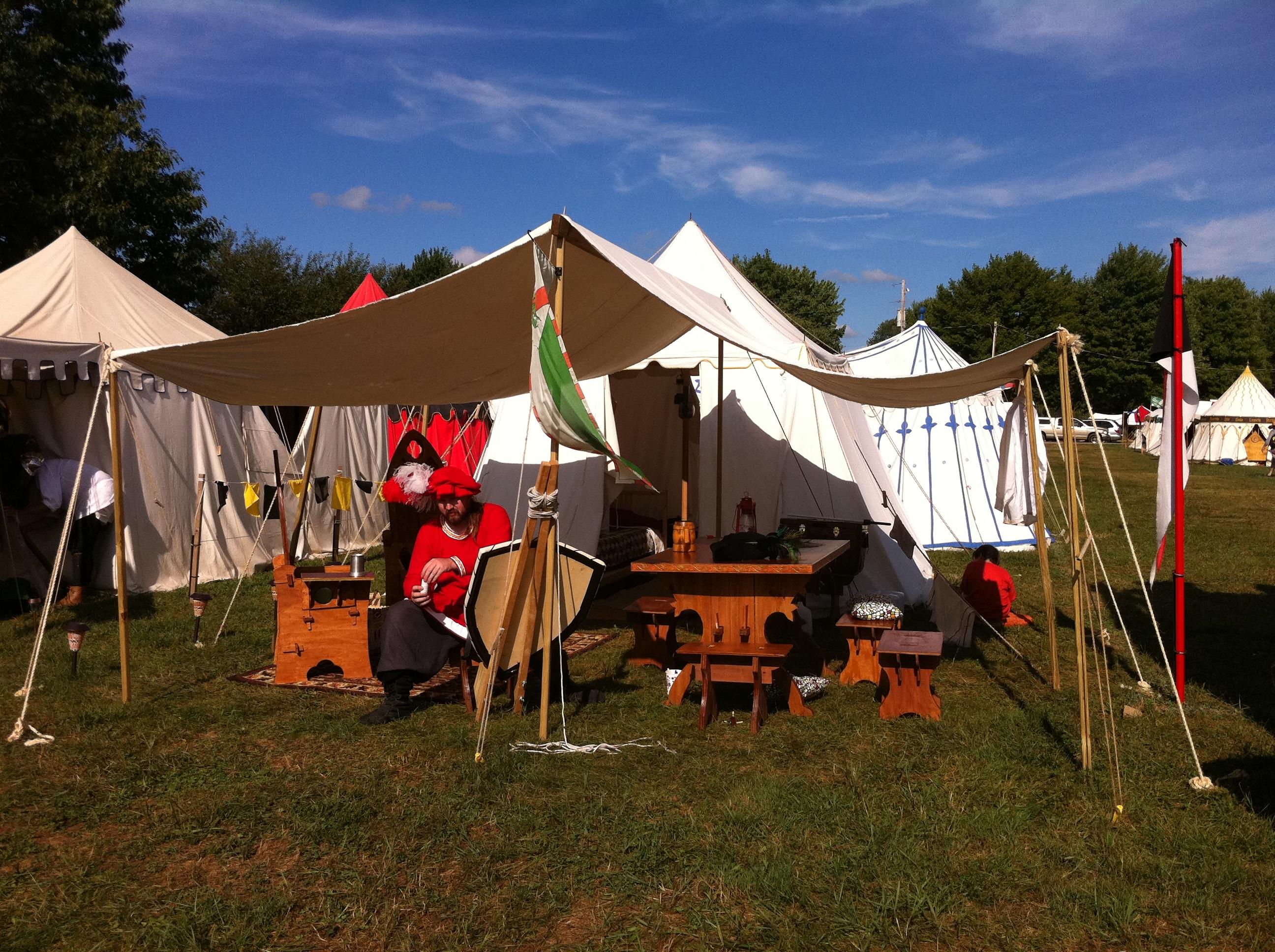 Accampamenti evento di agosto Encampment