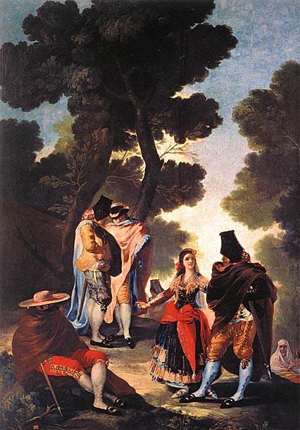 Fransisko Hose de Goja i Lusijentes GOYA_Francisco_de_A_Walk_in_Andalusia_1777