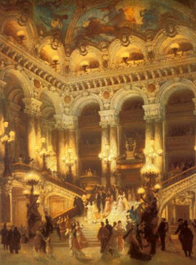 Prized phantom possesions - Page 5 The-lobby-of-the-paris-opera