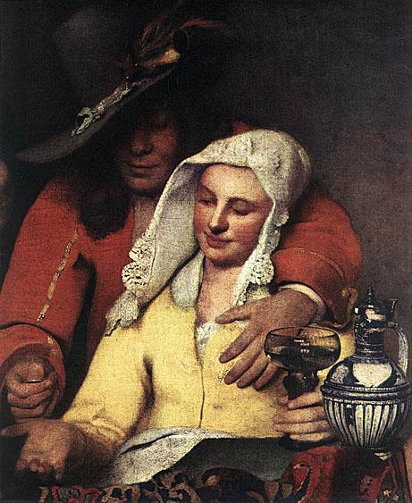 Johannes Vermeer The_Procuress_1656_Two