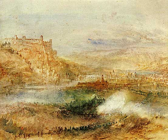 Joseph Mallord William Turner Ehrenbrietstein_and_Coblenz_1840