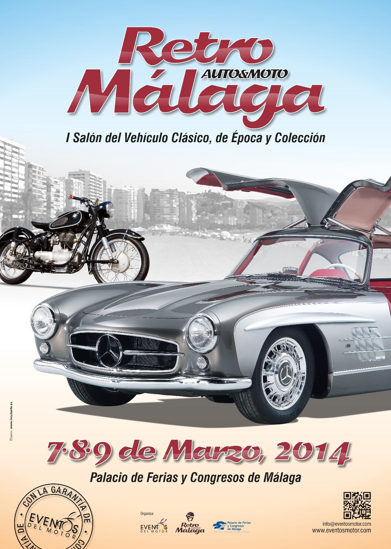 I RETRO AUTO & MOTO MÁLAGA, 7 al 9 de Marzo Feria-Retro-Auto-Moto-M%C3%A1laga
