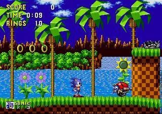 Emulateur Mégadrive : PicoDrive Sonic