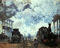 Je recherche   - Page 2 Monet-gare-lazare