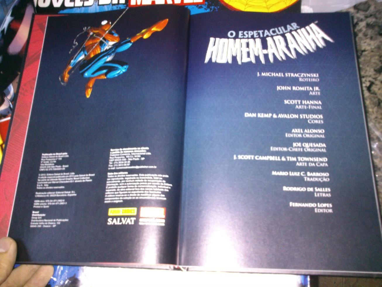 [Quadrinhos] Coleção de Graphic Novels MARVEL- Salvat - Página 2 Dsc_00451