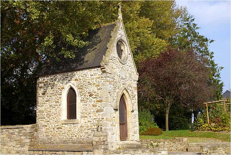 Chapelle Chapelle du Pont-l'Écuyer - Dinan 14oct