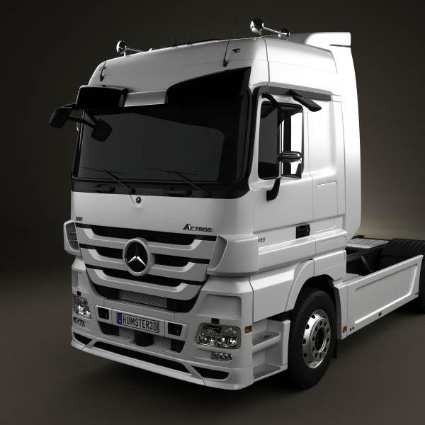 Mercedes-Benz Actros Tractor Mercedes-Benz_Actros_Tractor_2axis_2011_600_lq_0006