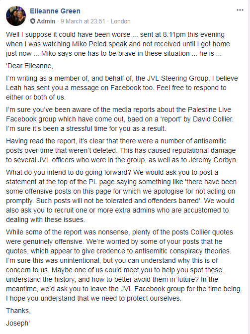 The Jewish Voice for Labour or for Antisemites? JVL-letter