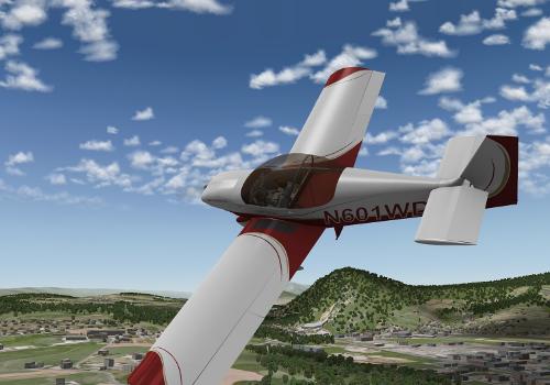 Aviões Experimentais Free para X-Plane 10 Ingame04