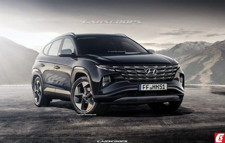 Rò rỉ về Hyundai Tucson 2021: Chỉ có thể nói hai từ tuyệt đẹp Hyundai-tucson-2021-1