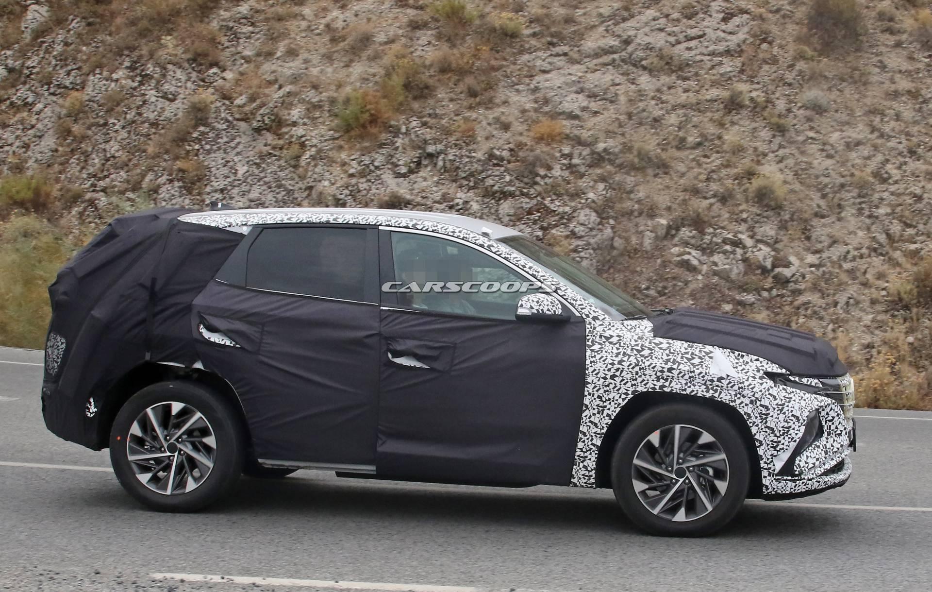 Rò rỉ về Hyundai Tucson 2021: Chỉ có thể nói hai từ tuyệt đẹp Hyundai-tucson-2021-3
