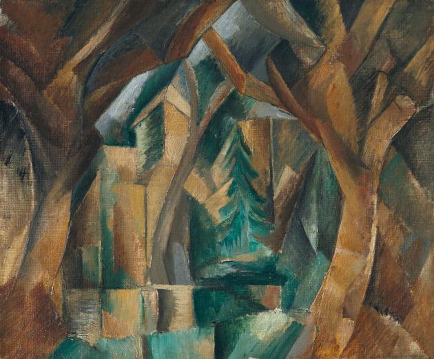 Esthétique 1785639-braque-les-debuts-du-cubisme
