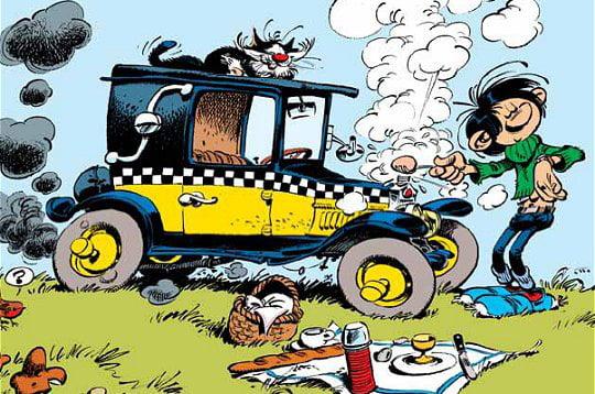 "Stickers ""Kenny Roberts"" - 60th anniversary 233793-fiat-509-la-voiture-emblematique-de-gaston"