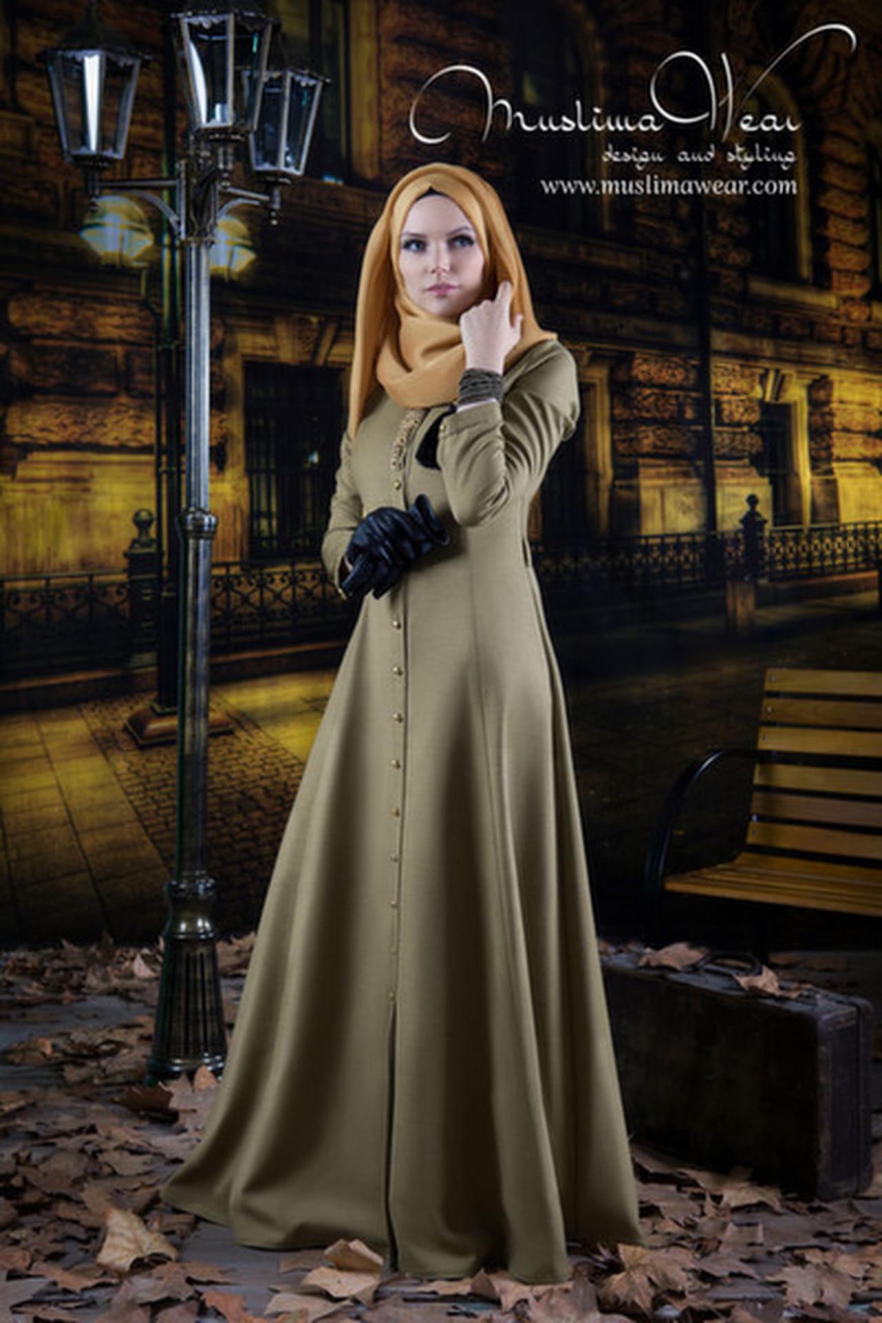 أفضل 10 إطلالات من أزياء Muslima Wear التركية  814322