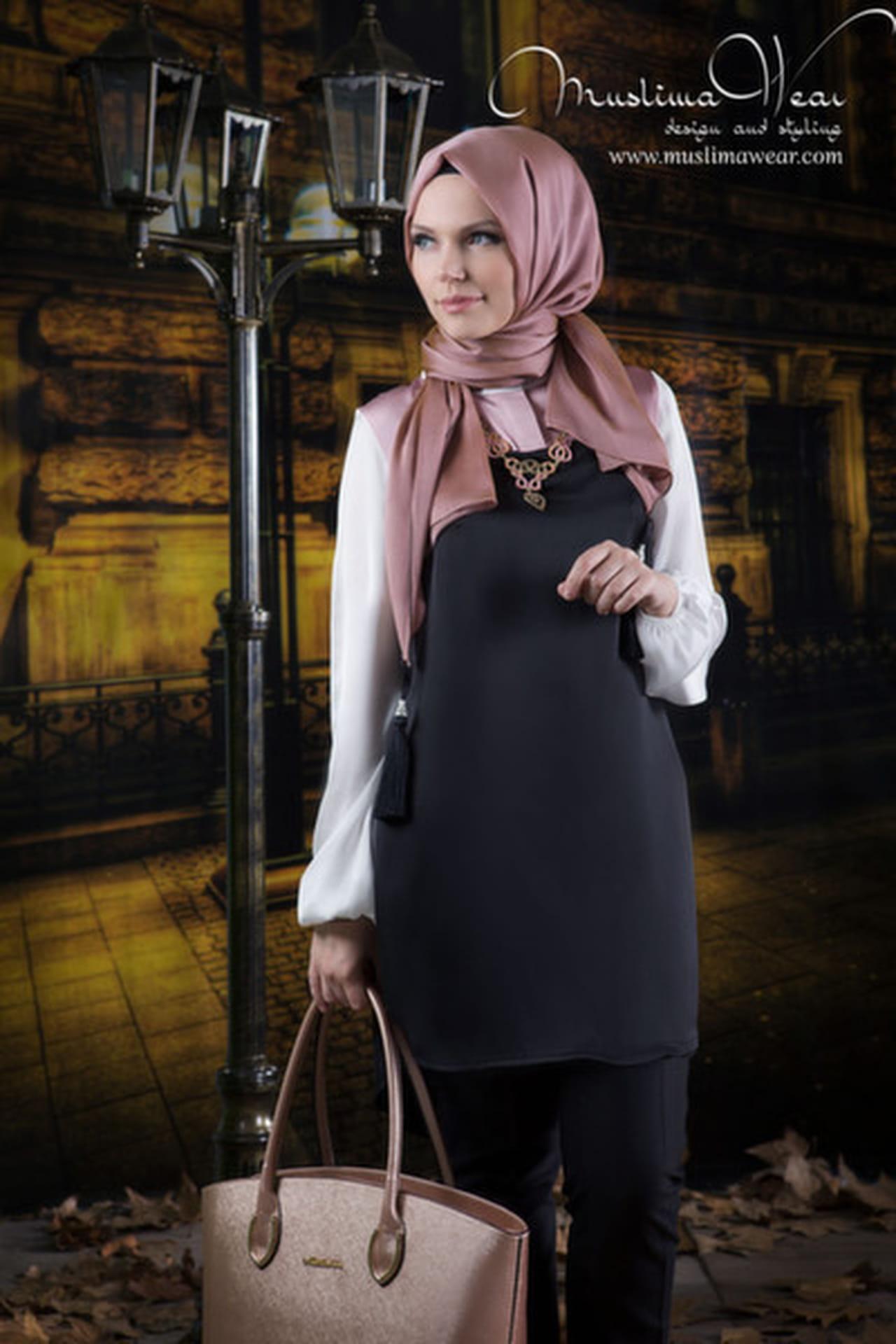 أفضل 10 إطلالات من أزياء Muslima Wear التركية  814319