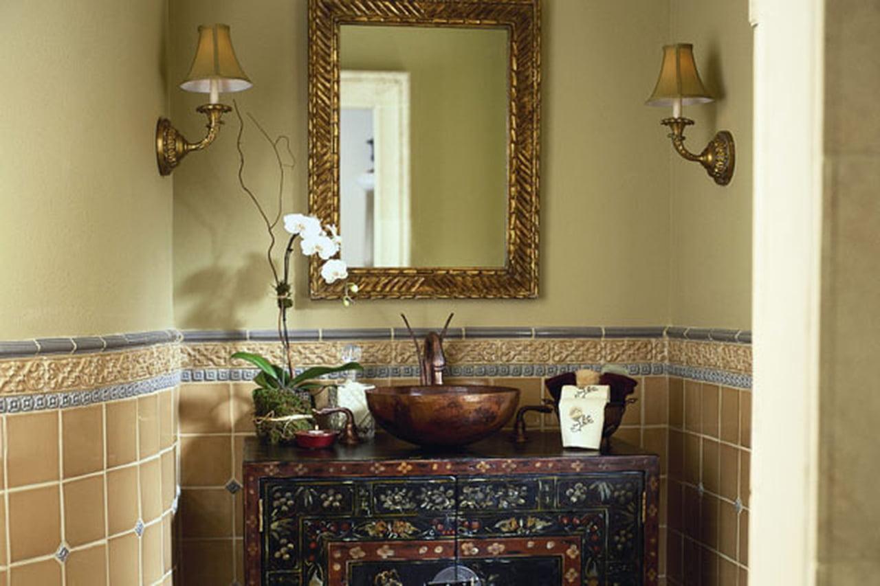 قواعد ونصائح تصميم ديكور حمام الضيوف بأناقة 866922