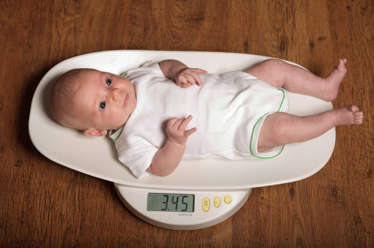 اسباب عدم زيادة وزن الرضع  786201