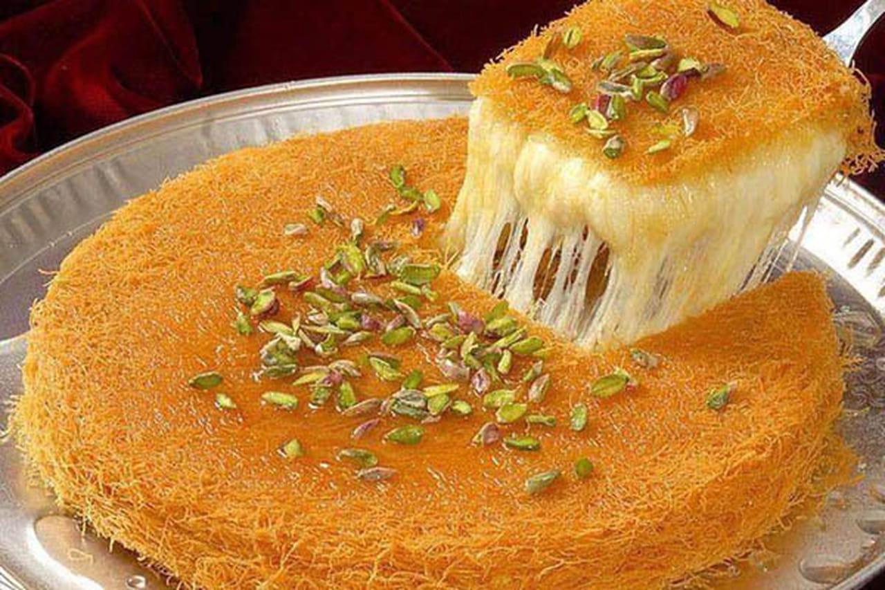 طريقة عمل الكنافة النابلسية الناعمة بالجبنة  830113