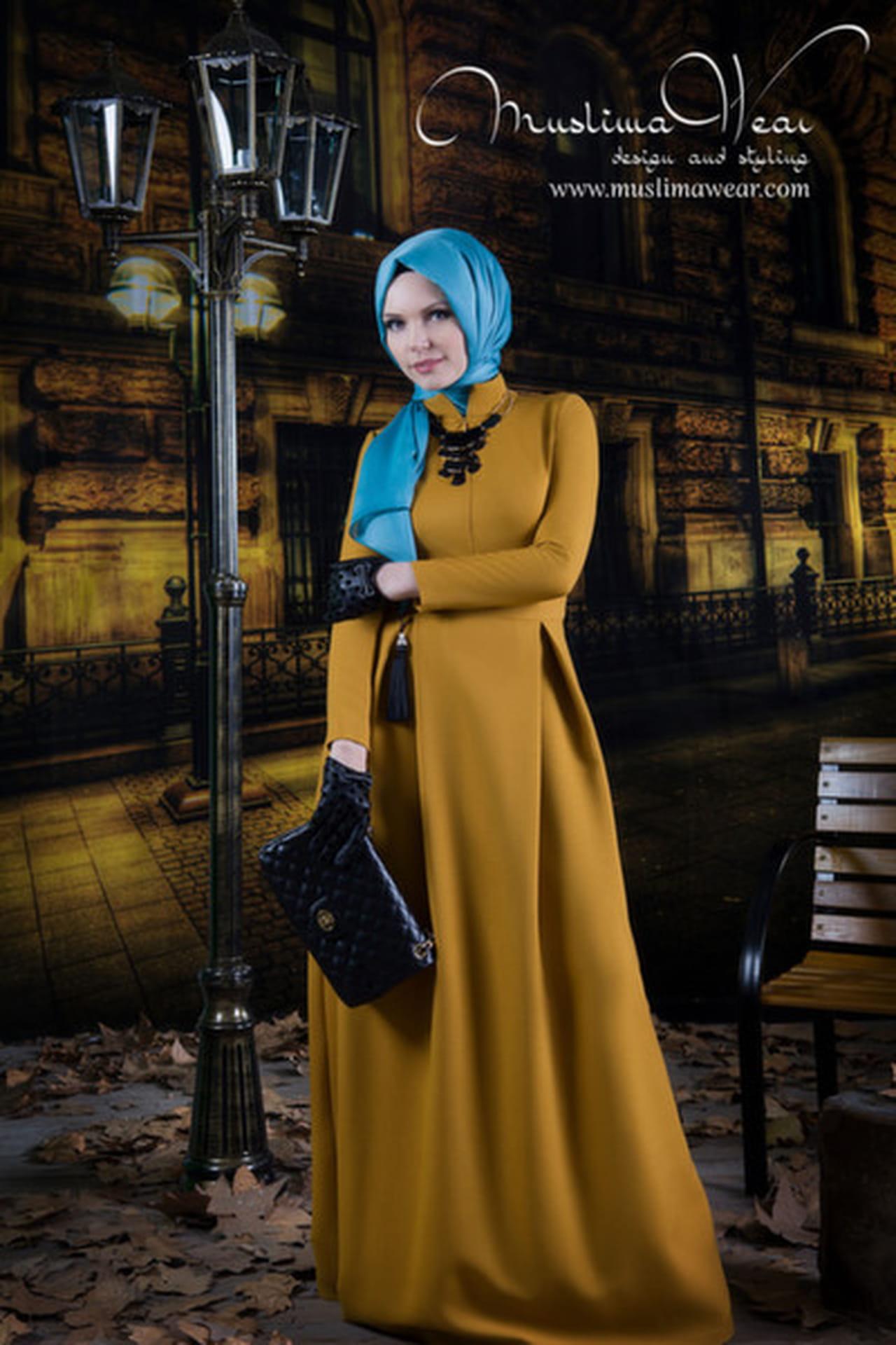 أفضل 10 إطلالات من أزياء Muslima Wear التركية  814323