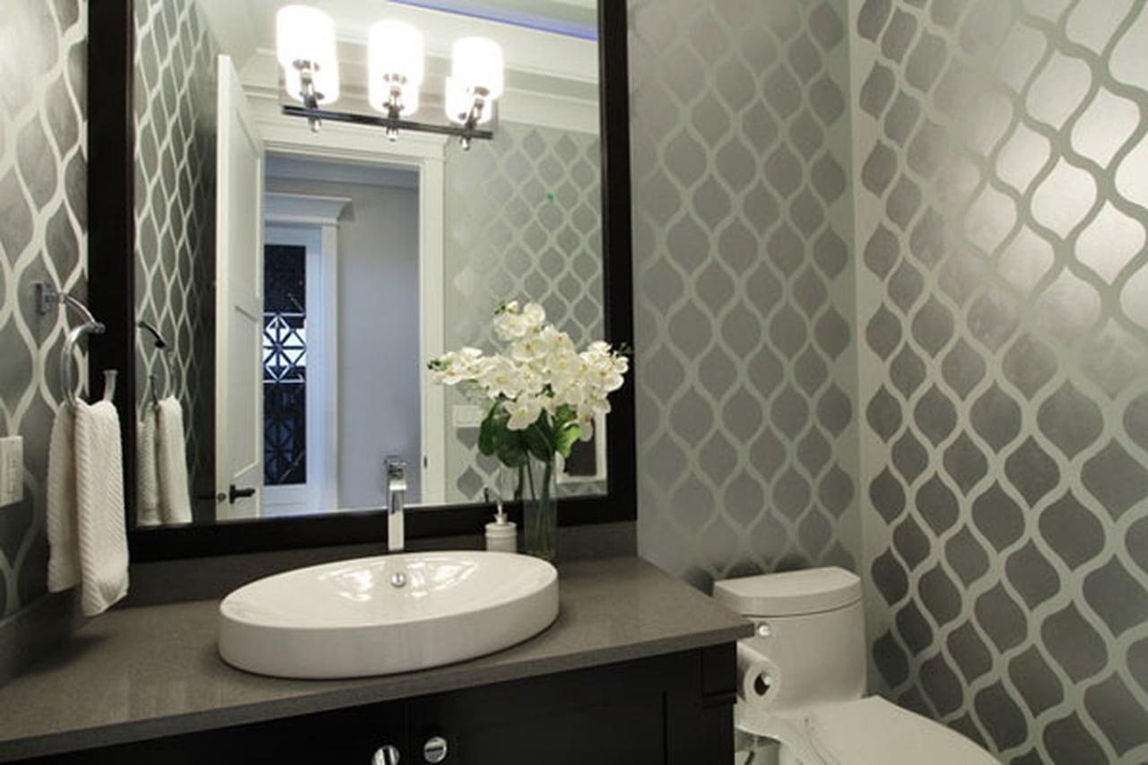قواعد ونصائح تصميم ديكور حمام الضيوف بأناقة 866923