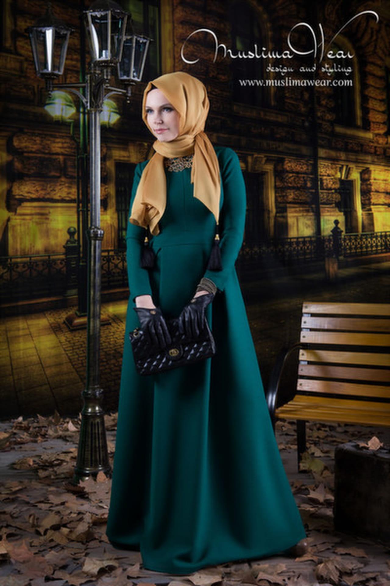 أفضل 10 إطلالات من أزياء Muslima Wear التركية  814326