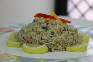 طريقة عمل الأرز بقطع الكاليماري  757929