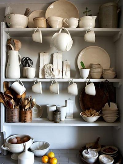 أفكار رومانسية دافئة في ديكورات المطبخ 800598