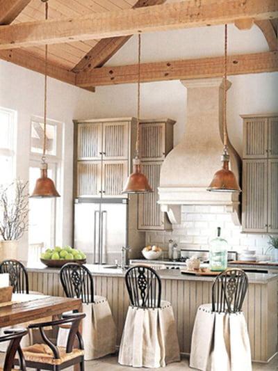 أفكار رومانسية دافئة في ديكورات المطبخ 800605