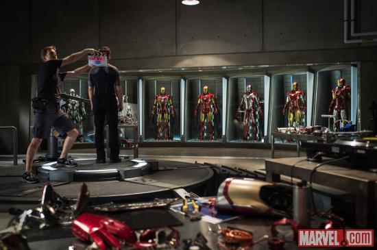 """FILM >> """"Iron Man 3"""" Detail"""