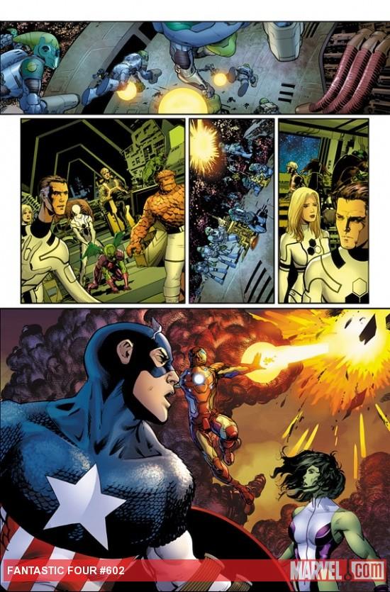 Fantastic Four  Detail