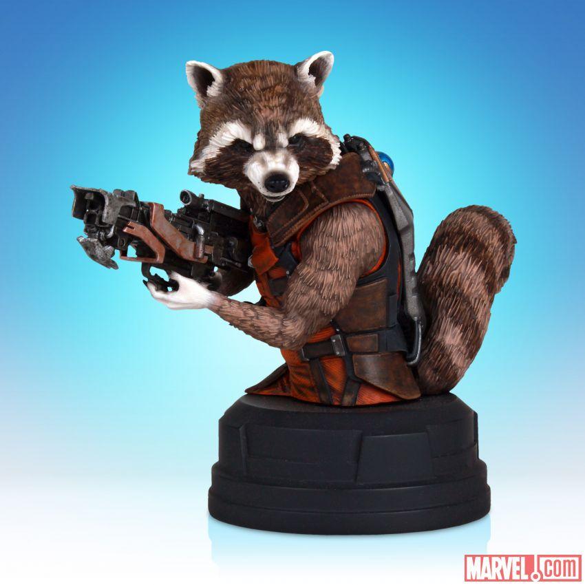 [Gentle Giant] SDCC 2014 Exclusive: Rocket Raccoon Movie Mini Bust 53bafb3470bb1