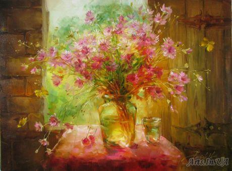 Цветотерапия в живописи... Dachne-lto_homchik_anna_1305202953