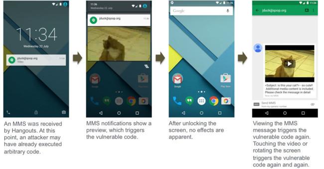 Descubierta vulnerabilidad crítica de Android 2.2 a 5.1: Vídeo malicioso para tomar el control del aparato 650_1200