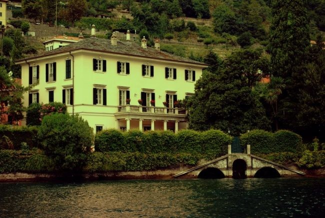 George Clooney S House In Lake Como Milan Italy Page 8