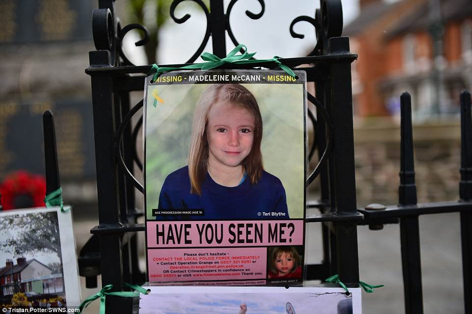 Maddie McCann's parents to join prayer service marking anniversary of her disappearance  4BD0C8CE00000578-5685683-A_computerised_image_of_what_police_believe_Madeline_McCann_will-a-17_1525384956974