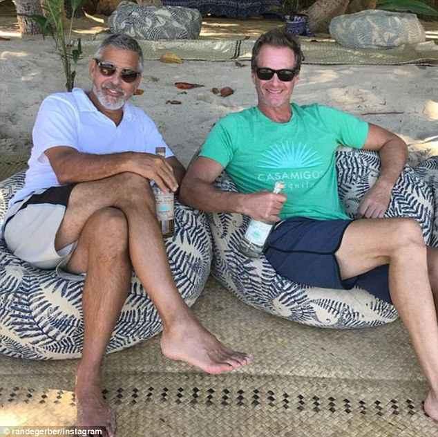 George Clooney celebrates his birthday in New York at Laconda Verde 4BEC258300000578-5697367-image-m-78_1525632483047