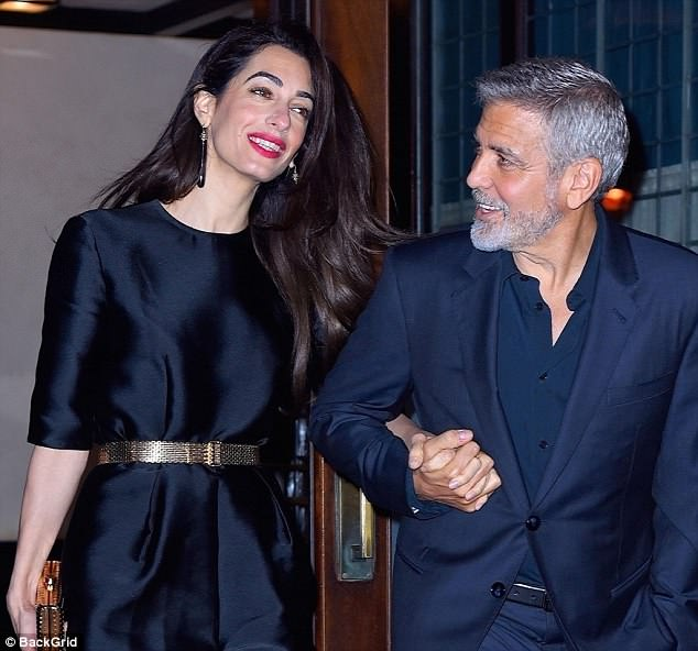 George Clooney celebrates his birthday in New York at Laconda Verde 4BEF899F00000578-5700417-image-m-75_1525711824486