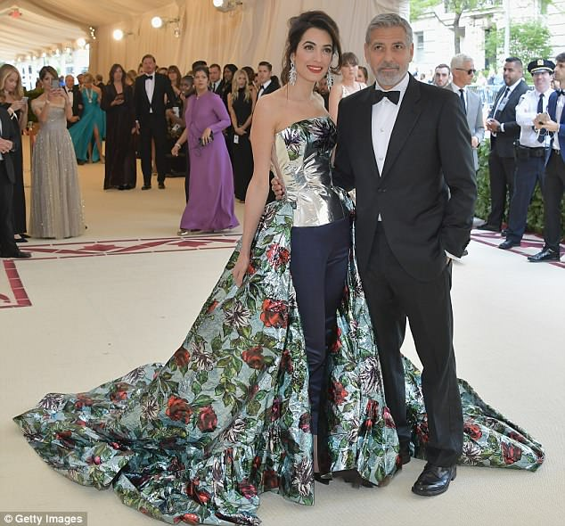 George and Amal Clooney Later at after party after the Met Gala2918 4BF3EFF400000578-0-Show_stopper_Amal_Clooney_made_a_big_impression_at_Monday_s_Met_-a-1_1525781490698