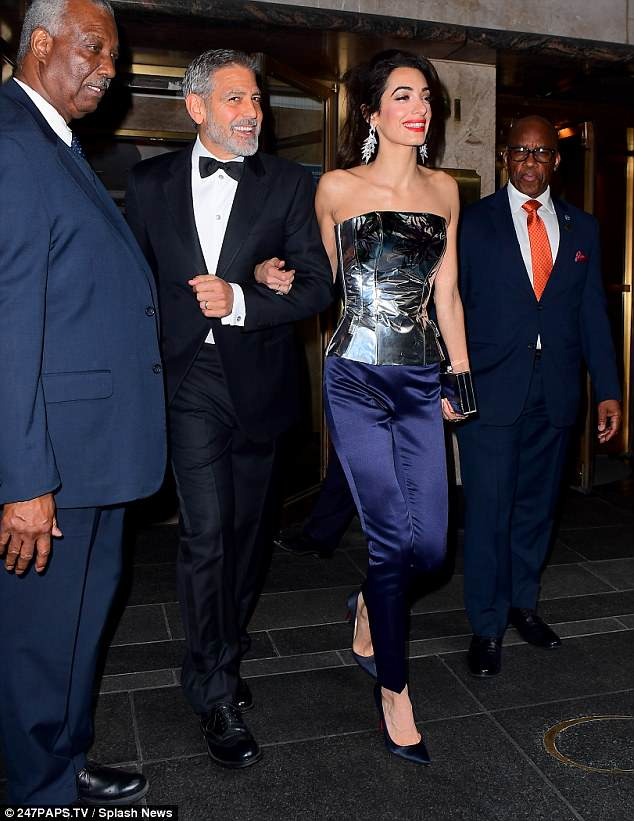 George and Amal Clooney Later at after party after the Met Gala2918 4BF5264B00000578-0-Into_the_night_She_joined_George_Clooney_for_night_on_the_tiles_-a-10_1525781490912