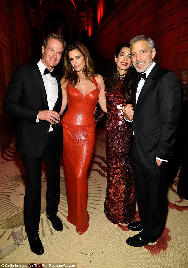 George and Amal Clooney Later at after party after the Met Gala2918 4BF6A24A00000578-5703775-image-a-25_1525781901067