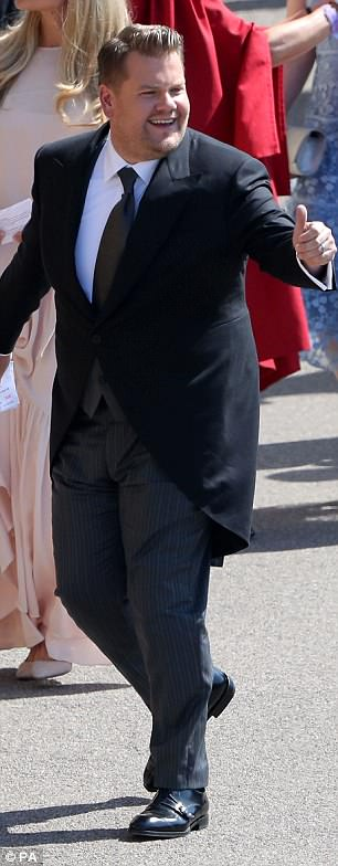 George and Amal Clooney at the Royal Wedding - Page 2 4C6C124300000578-5748481-image-m-6_1526751921087