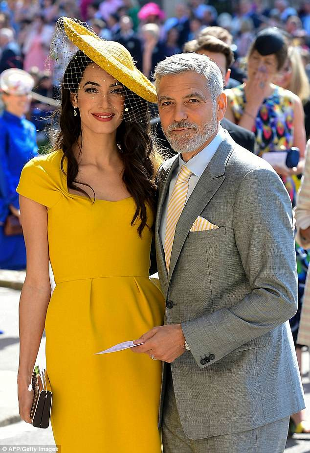 George and Amal Clooney at the Royal Wedding - Page 2 4C79568F00000578-5751241-image-a-23_1526852992134