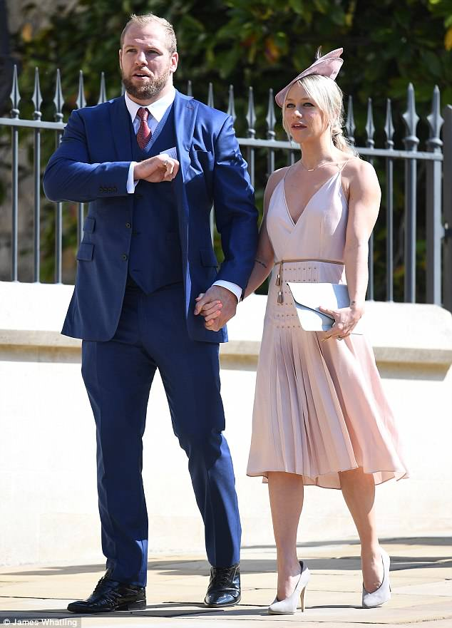 George and Amal Clooney at the Royal Wedding - Page 2 4C7A199E00000578-5751241-image-a-28_1526853191855