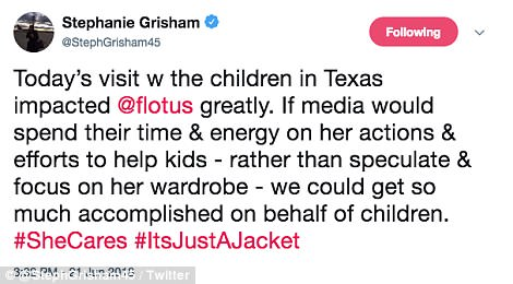The Serious Side - part 6 - Page 10 4D7FDE3100000578-5871221-_It_s_just_a_jacket_Melania_s_spokesperson_Stephanie_Grisham_too-a-196_1529618706433