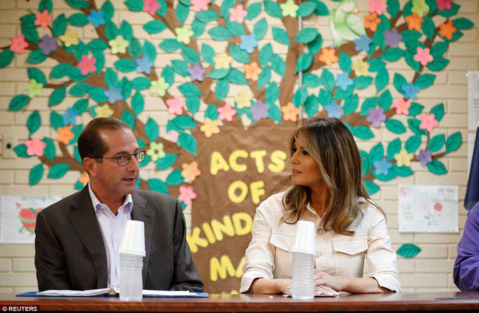 The Serious Side - part 6 - Page 10 4D7E977000000578-5871221-Side_by_side_The_first_lady_traveled_with_Alex_Azar_Secretary_of-a-116_1529628562715