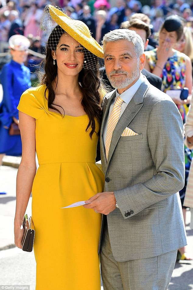 George and Amal Clooney arrive in Sardinia Today 4D7658D000000578-5879923-Charitable_This_is_the_first_time_the_couple_has_been_seen_since-a-4_1529854911462