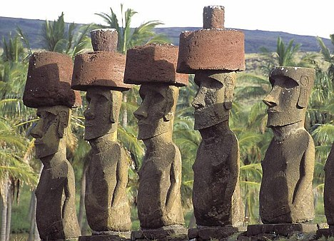 Easter Island Statues - Mystery Solved? Article-1211673-065172A6000005DC-760_468x338