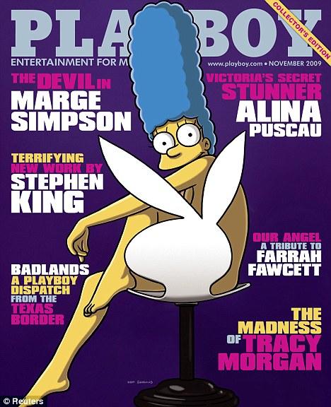 Marge Simpson pose pour Playboy Article-0-06C4C006000005DC-776_468x576