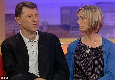 McCanns beg police to start again in the search for Madeleine Article-1269363-0953EE04000005DC-116_468x328